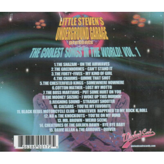 VARIOUS ARTISTS - The Coolest Songs In The World! Vol.1 - Little Stevens Underground Garage