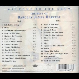 BARCLAY JAMES HARVEST - Welcome To The Show - The Best Of Barclay James Harvest