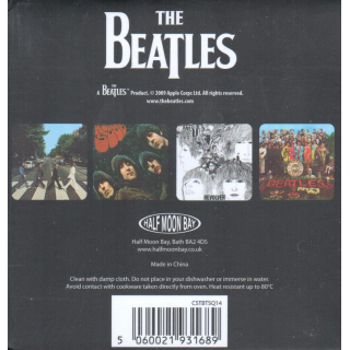 BEATLES, THE - The Beatles - Untersetzer/Coaster Set (4)
