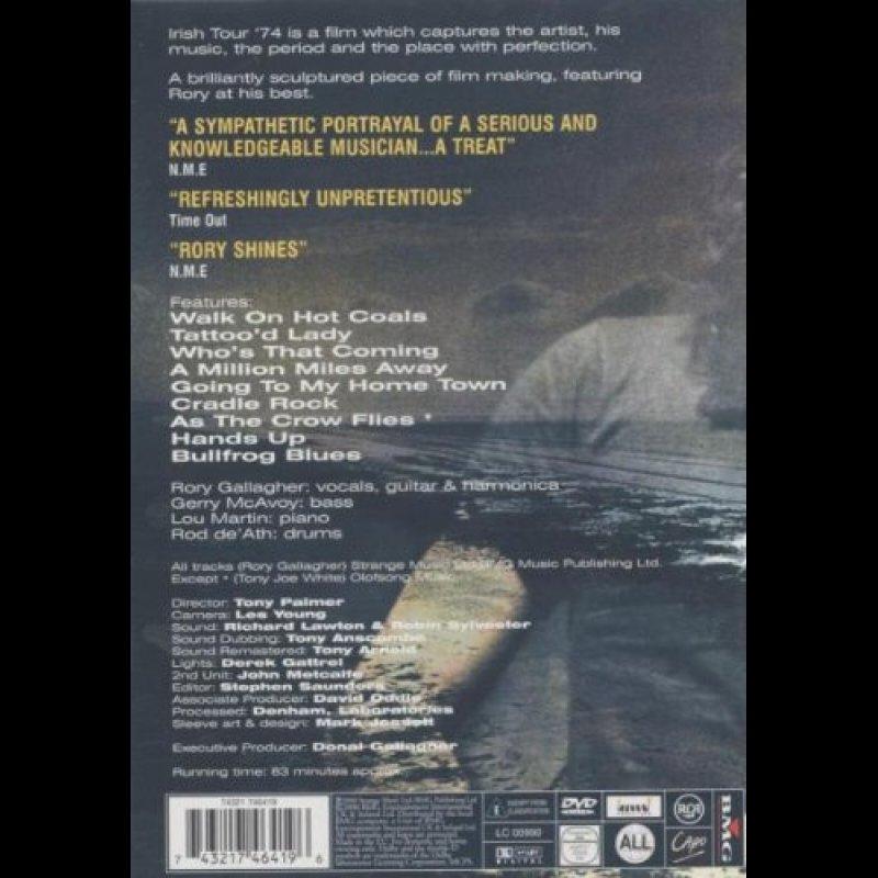 Rory Gallagher Walk On Hot Coals Irish Tour