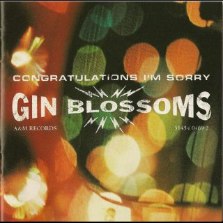 GIN BLOSSOMS - Congratulations Im Sorry