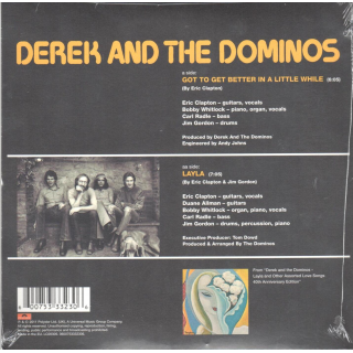 DEREK AND THE DOMINOS - Got To Get Better In A Little While - Layla