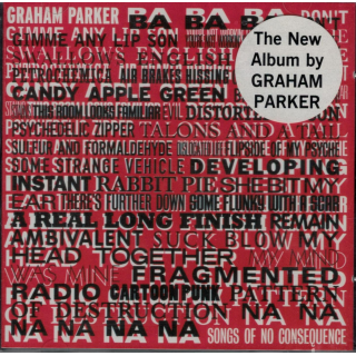 PARKER, GRAHAM - Songs Of No Consequence