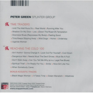 PETER GREEN SPLINTER GROUP - Time Traders / Reaching The Cold 100