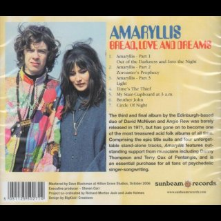 AMARYLLIS - Bread, Love And Dreams