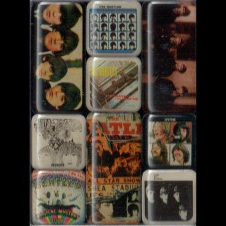 BEATLES, THE - Magnet Set The Beatles