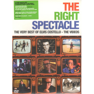 COSTELLO, ELVIS - The Right Spectacle, The Very Best Of Elvis Costello - Videos 1978-1994, Amaray