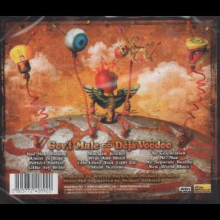 GOVT MULE - Déjà Voodoo, Plus Live In Chicago 2-CD Special Edition Europe