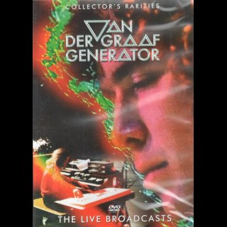 VAN DER GRAAF GENERATOR - The Live Brodcasts  RAR !!
