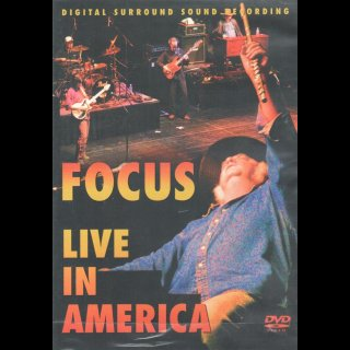 FOCUS - Live in America DVD Neu